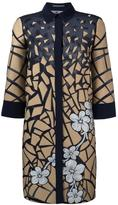 Alberta Ferretti printed longline shirt - women - Silk/Cotton/Acetate/other fibers - 40