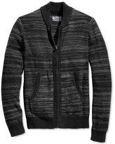 American Rag Men's Full-Zip Mock-Collar Sweater Bomber, Only at Macy's