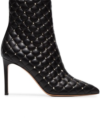 Valentino Rockstud Spike ankle boots