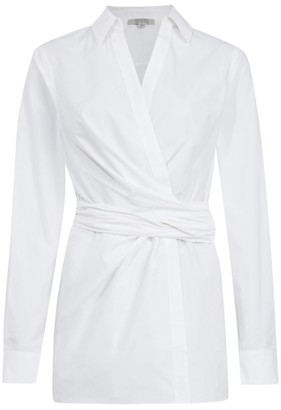 AllSaints Alicia Wrap-Around Shirt