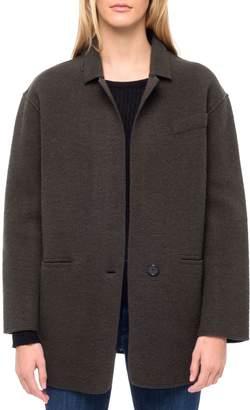 Line Penelope Wool-Blend Boyfriend Jacket