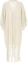 CARAVANA Tulum Olympia Fringe Wrap Dress