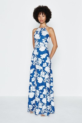Coast Halter Printed Maxi Dress