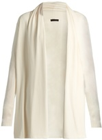 The Row Sua stretch-crepe cardigan