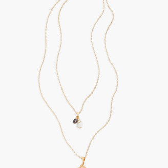 Talbots Tiered Seashell Necklace