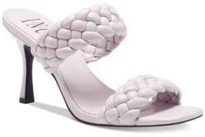 INC International Concepts Inc Women's Lyra Braided Sandals, Created for Macy's Women's Shoes