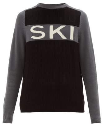 Perfect Moment Ski Ii Merino-wool Sweater - Mens - Grey