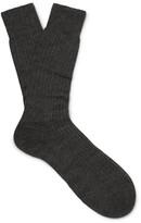 Pantherella - Knightsbridge Ribbed Cashmere Socks