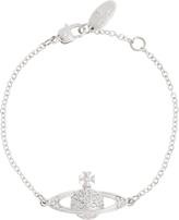 Vivienne Westwood Anglomania Mini Bas Relief Chain Bracelet Crystal