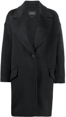 Isabel Marant Virgin Wool Cocoon Coat