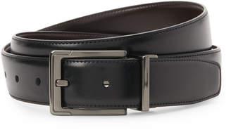 Perry Ellis Portfolio Black & Brown Reversible Belt