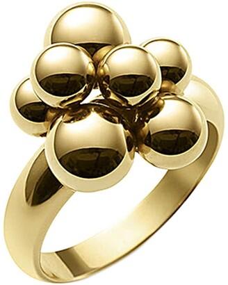 MARINA B 18kt yellow gold mini Atomo ring
