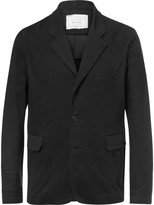 By Walid - Black Edward Linen Blazer