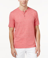 Tasso Elba Men's Heathered Henley, Only at Macy's