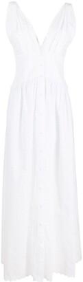 Philosophy di Lorenzo Serafini Perforated Layered Dress