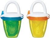 Munchkin Deluxe Fresh Food Feeder - Yellow/Green - 2 ct