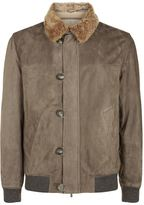 Brunello Cucinelli Aviator Bomber Jacket