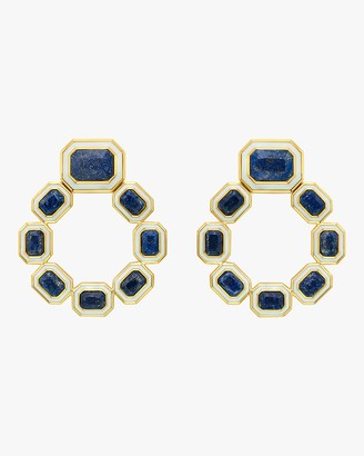 Isharya Chakra Grecian Drop Earrings