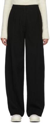 Jil Sander Black Wool Nobie Trousers