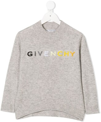 Givenchy Kids Embroidered Logo Jumper