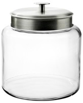 Anchor Hocking Montana Glass Jar with Silver Lid - 1.5 gal.