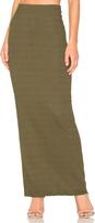 LAmade Lulu Column Maxi Skirt