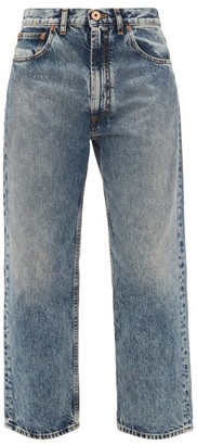 Maison Margiela Boyfriend-fit Straight-leg Jeans - Womens - Denim