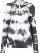 Rodarte faded logo hoodie