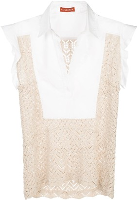 Altuzarra Batten crochet blouse