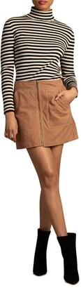 Trina Turk Harvest Suede Skirt