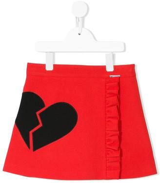 Msgm Kids Ruffle Mini Skirt