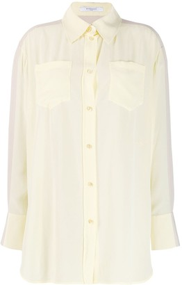 Givenchy Two-Tone Longline Shirt