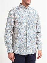 John Lewis Ditsy Floral Print Shirt, Multi