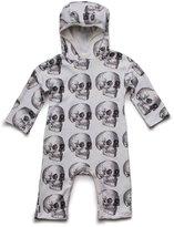Nununu Infant MD Skull Hood Playsuit
