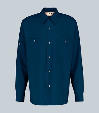 Marni Tropical wool shirt