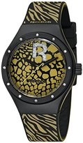 Reebok Icon Women's Quartz Watch with Black Dial Analogue Display and Multicolour Silicone Strap RC-IRR-L2-PBI2-B2
