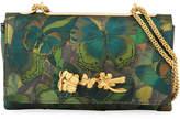 Valentino Garavani Butterfly Mixed-Media Shoulder Bag