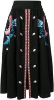 Temperley London Peacock skirt