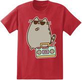 Novelty T-Shirts Pusheen Boom Box T-Shirt