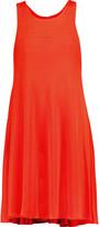 Milly Textured-cady mini dress