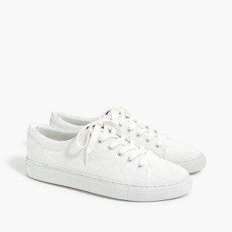 J.Crew Road trip canvas lace-up sneakers