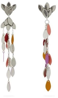 Isabel Marant Marisa Mismatched Leaf Drop Earrings - Multi