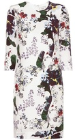 Erdem Emma Printed Silk Dress