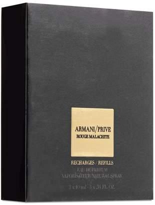 Giorgio Armani Prive Rouge Malachite Eau De Parfum Vaporisateur Natural Spray Refill Bottles