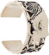 Givenchy Medusa engraved cuff bracelet