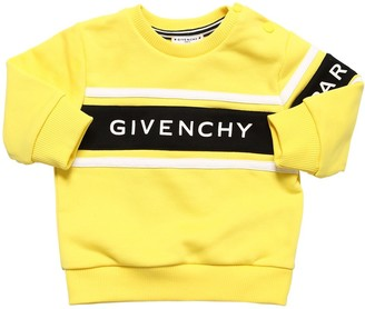 Givenchy RUBBERIZED LOGO COTTON SWEATSHIRT