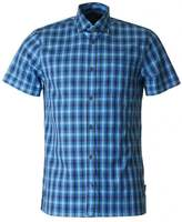 Aquascutum London Emsworth Short Sleeved Club Check Shirt