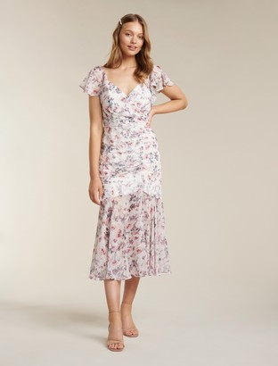 Ever New Azalea Ruched Maxi Dress
