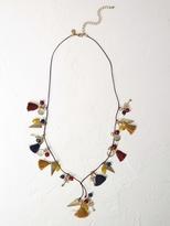 White Stuff Equator lariat necklace