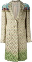 Etro brocade coat - women - Silk/Cotton/Polyester/Metallic Fibre - 42